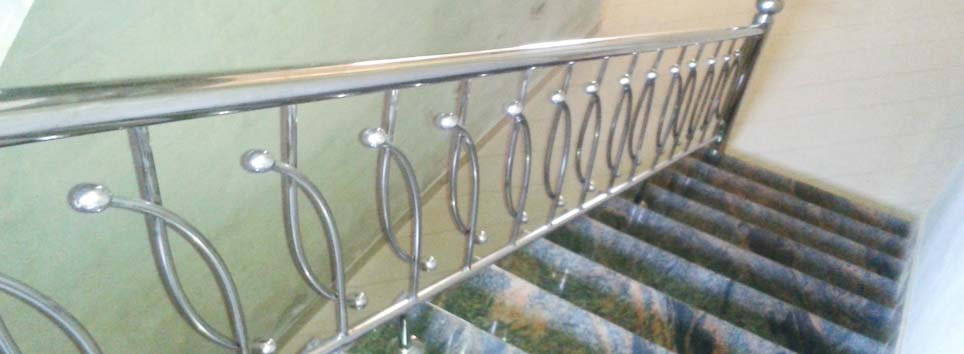 STAINLESS STEEL HANDRAILS BY AISWARYA